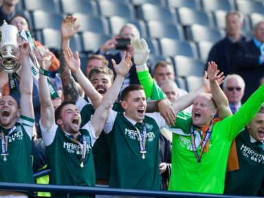 Hibernian beat Rangers in the Scottish Cup final