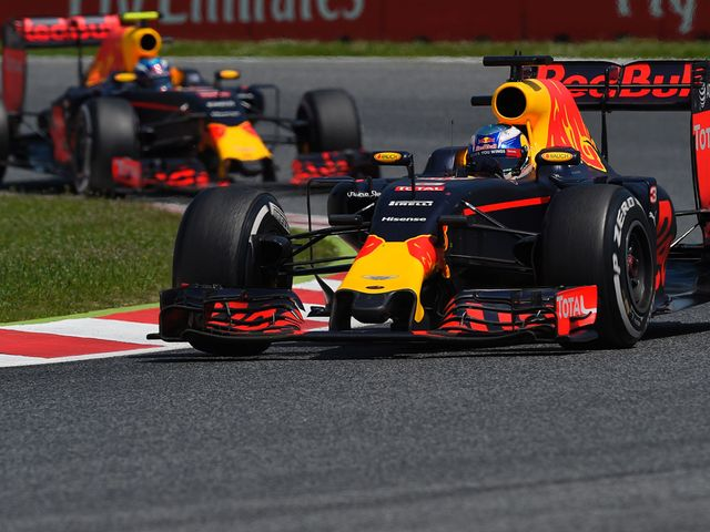 Max Verstappen drove to victory in Barcelona