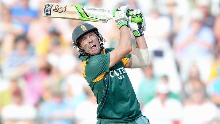 AB de Villiers will miss Sunday's ODI against Ireland due to injury