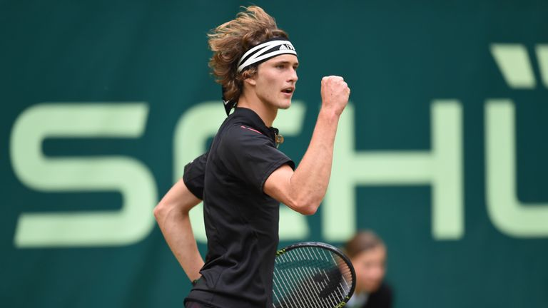 Home favourite Alexander Zverev will also be in action
