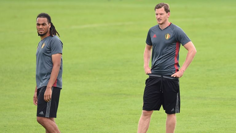 Jan Vertonghen is closing in on Belgium's all-time appearance record