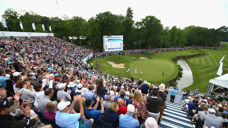 2018 bmw pga championship.  bmw more european tour stars should play bmw pga says ewen murray  golf news  sky sports intended 2018 bmw pga championship c