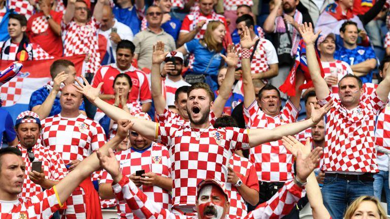 Soccer – UEFA Euro 2012 – Group C – Croatia v Spain ... |Croatia Soccer Fans
