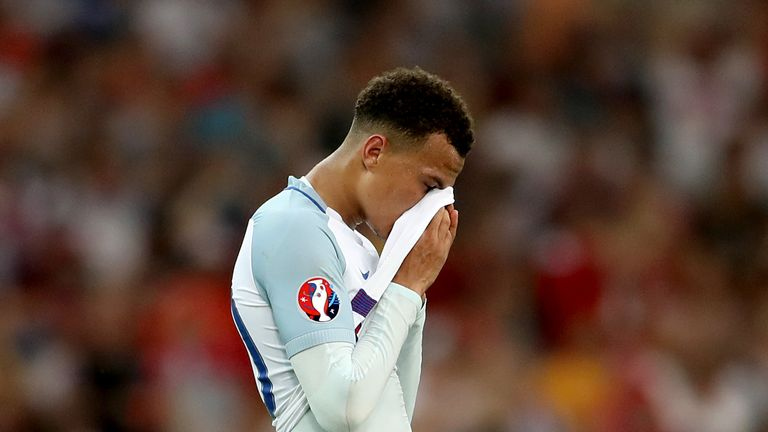 Dele Alli admits England players still find it hard to talk about their Euro 2016 exit