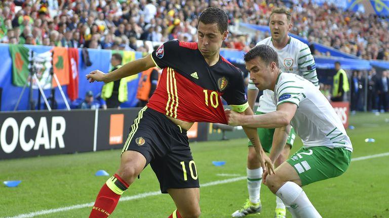Hazard will miss Belgium's World Cup Qualifier against Estonia