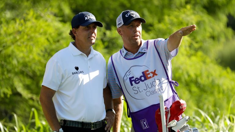 Mackay has not caddied on the PGA Tour since splitting with Phil Mickelson after 25 years together