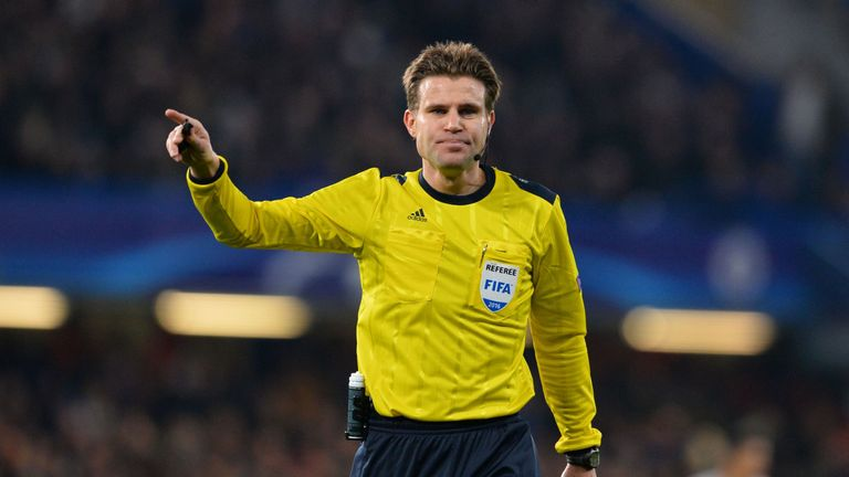 2016 v wales referee felix brych a doctor of