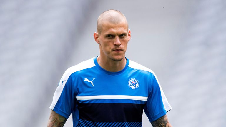 Martin Skrtel is back in contention for Slovakia this week