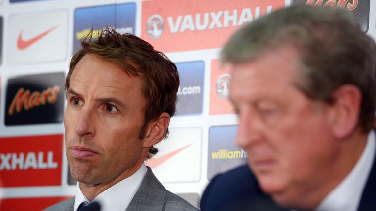 Gareth Southgate was named as England's Under-21 manager in 2013