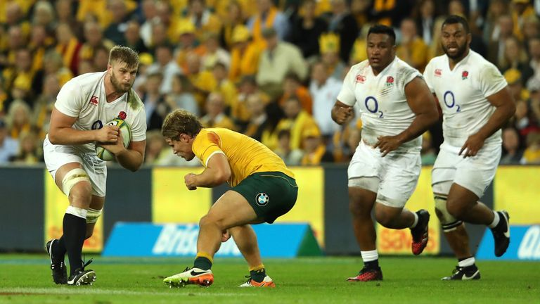 Joe Launchbury: I am ready to answer England's injury crisis