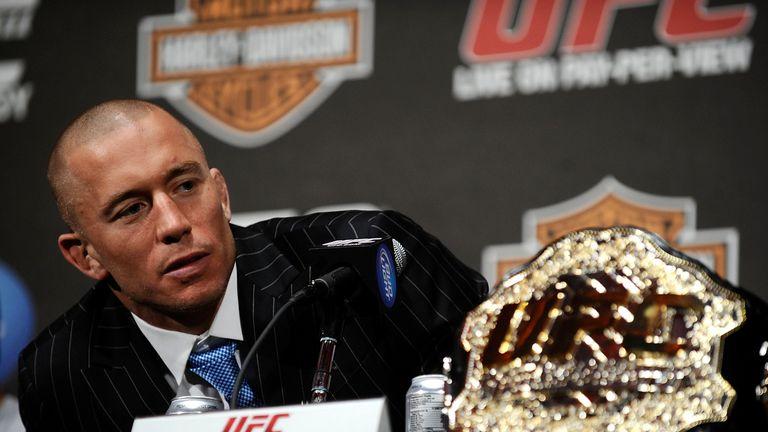 Former UFC welterweight champion Georges St-Pierre