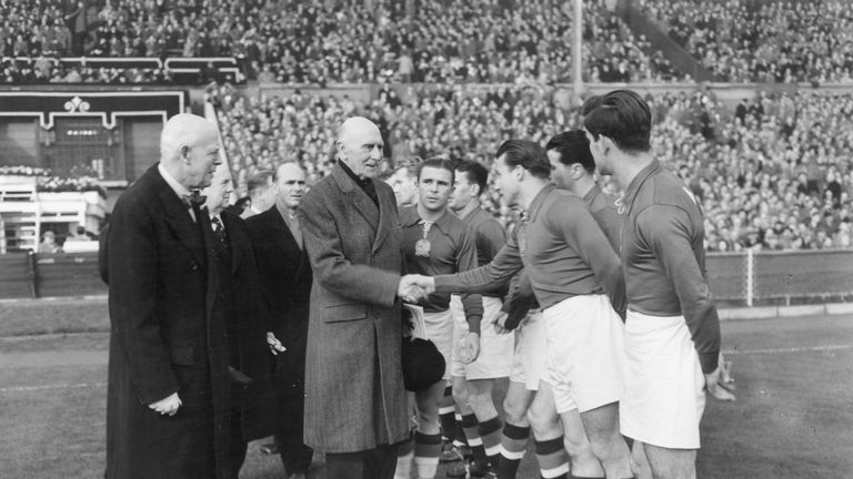 The famous Hungarian side of the 1950s saw off England at Wembley in 1953