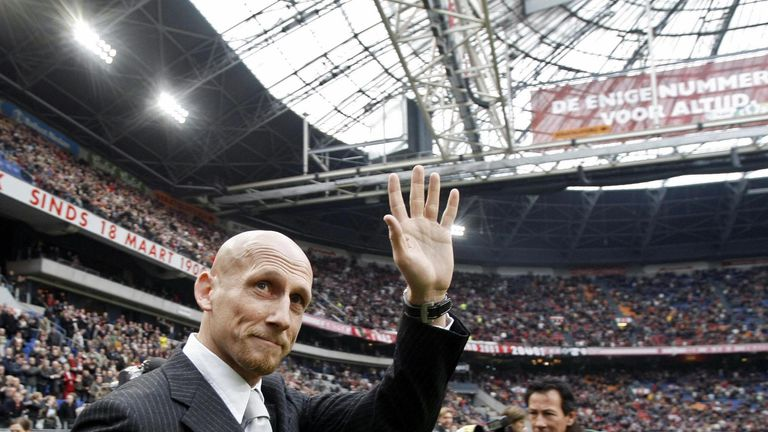 Stam played for Ajax, and later coached at the Eredivisie club