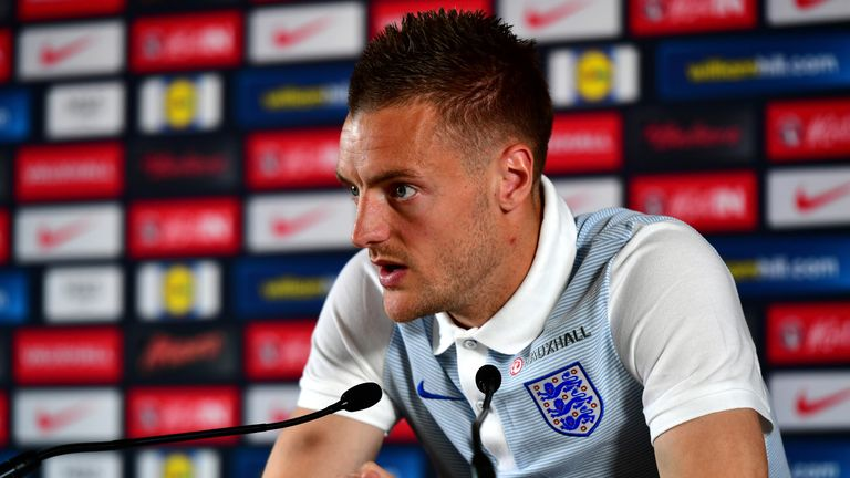 Vardy is concentrating on England whilst they are still in Euro 2016