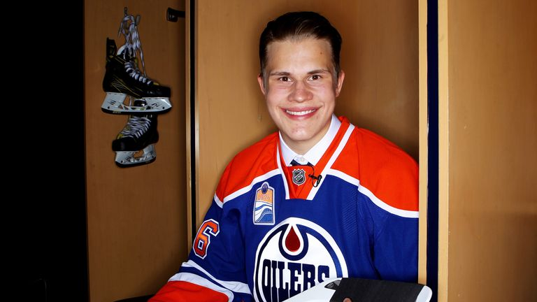 Jesse Puljujarvi is excited to be heading to Edmonton