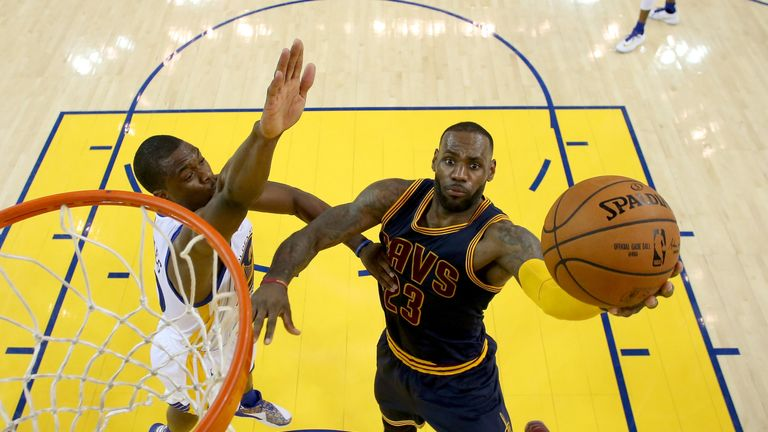 LeBron James contributed 23 points for the Cavaliers, but their roster depth was exposed by Golden State