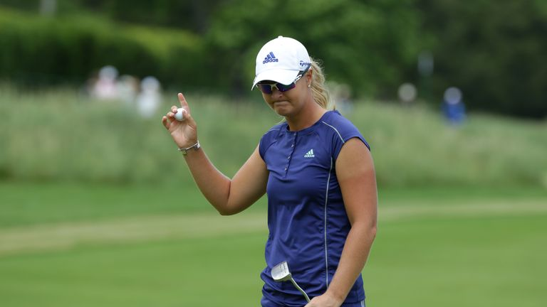 Anna Nordqvist became the oldest winner on the LPGA Tour this year