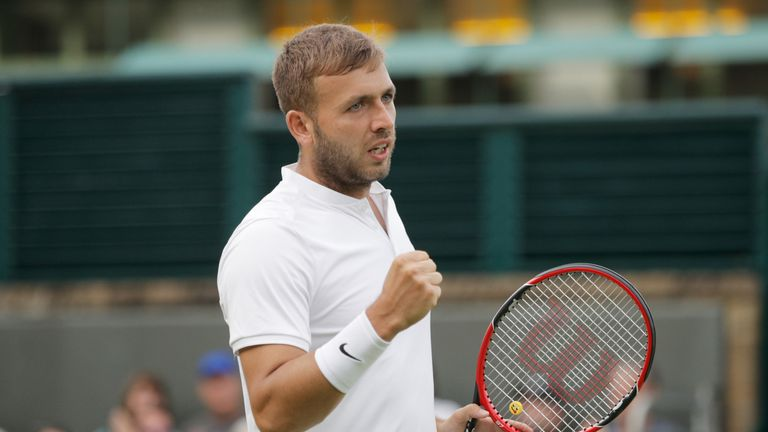 Dan Evans joined his friend Willis in the next round