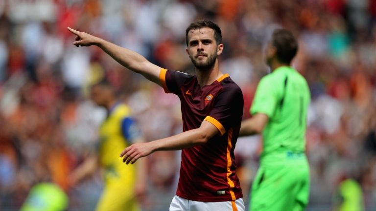 Miralem Pjanic has joined Juventus on a five-year deal