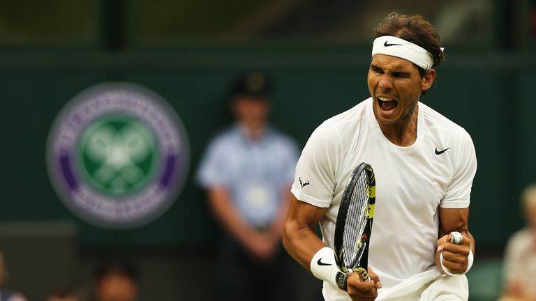 Image result for rafael nadal at wimbledon