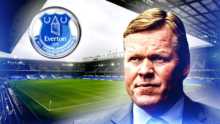 Southampton will be paid £5m in compensation by Everton for Ronald Koeman, according to Sky sources