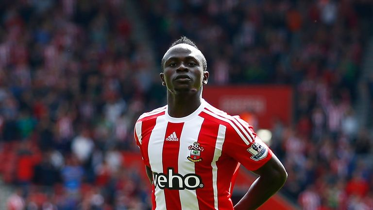 Mane made his mark in the Premier League at Southampton