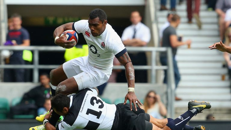 Semesa Rokoduguni is back in the England squad to face Australia