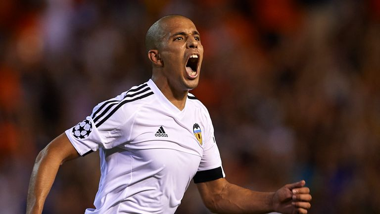 Feghouli has joined West Ham after six years at Valencia