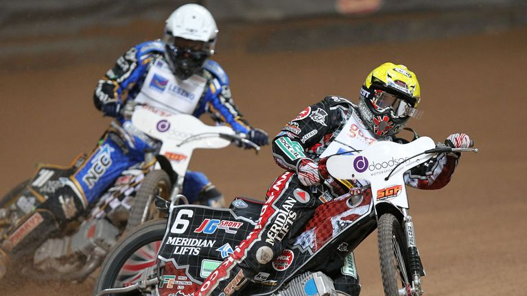 Chris Harris has moved from Coventry to Rye House