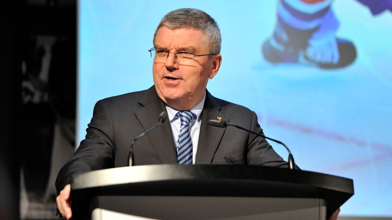 IOC President Thomas Bach wants double Olympic announcement