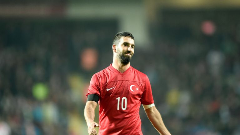 Turan has won 100 caps for Turkey