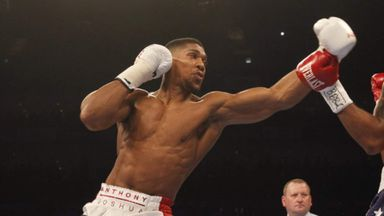 Anthony Joshua was trained by Don Charles as an amateur