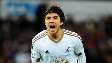 Alberto Paloschi spent just six months at Swansea, scoring two goals