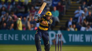 Colin Ingram helped Glamoran into the knockout stage