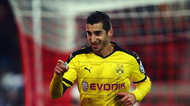 Henrikh Mkhitaryan has agreed personal terms with Man United