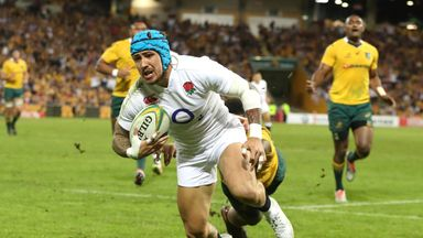 Jack Nowell is set for a spell on the sidelines after thumb surgery