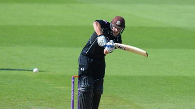 Rory Burns has committed his future to Surrey