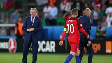 Wayne Rooney went against Roy Hodgson's decision on set-pieces at Euro 2016
