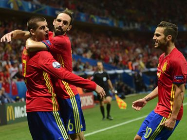 Spain were Charlie's pre-tournament pick for the Euros