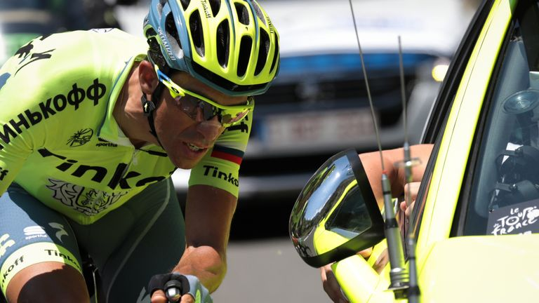 Alberto Contador withdraws from the Tour de France