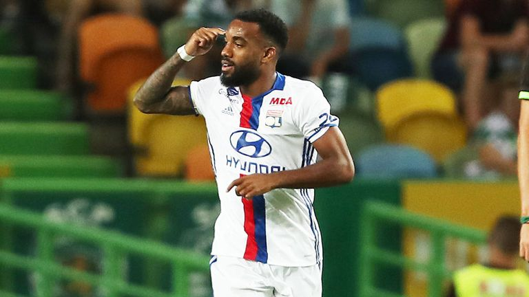 Lyon's head coach has said there is a possibility Lacazette could leave