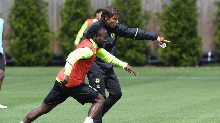 Image result for Victor Moses with Conte