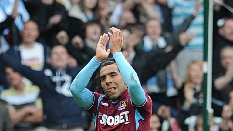 Carlos Tevez remains a firm favourite among the West Ham supporters