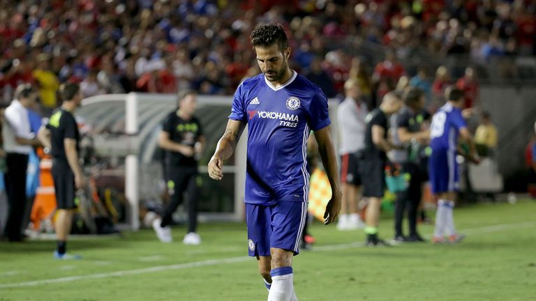 AC Milan were interested in signing Cesc Fabregas