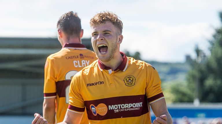 Motherwell's Chris Cadden has a bright future according to Andy Walker