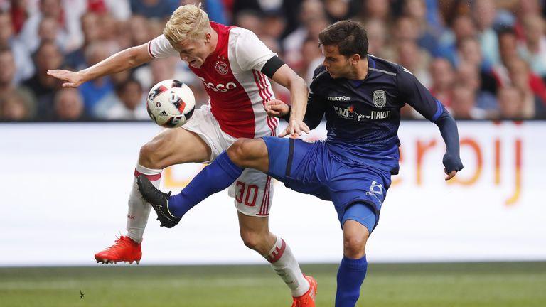 Ajax Paok: Champions League Round-up: Ajax Held By PAOK, BATE Beat