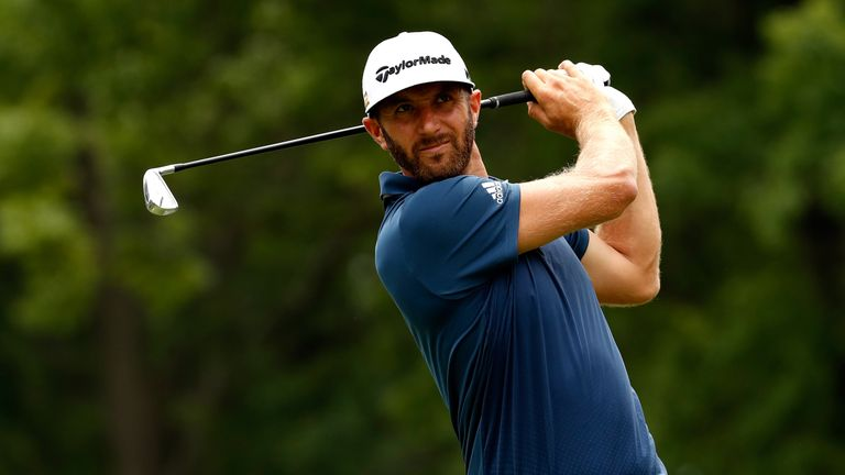 Dustin Johnson closed out his US Open victory in some style at Oakmont