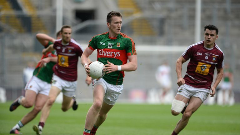 Mayo captain Cillian O'Connor starts at corner-forward on Sunday