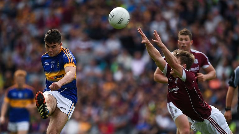 Michael Quinlivan (left) has been rewarded for helping Tipperary reach the All-Ireland semi-finals