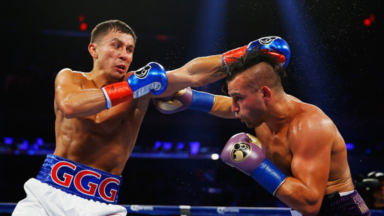 Gennady Golovkin (left) will give Brook a welcome fear factor, says Nelson